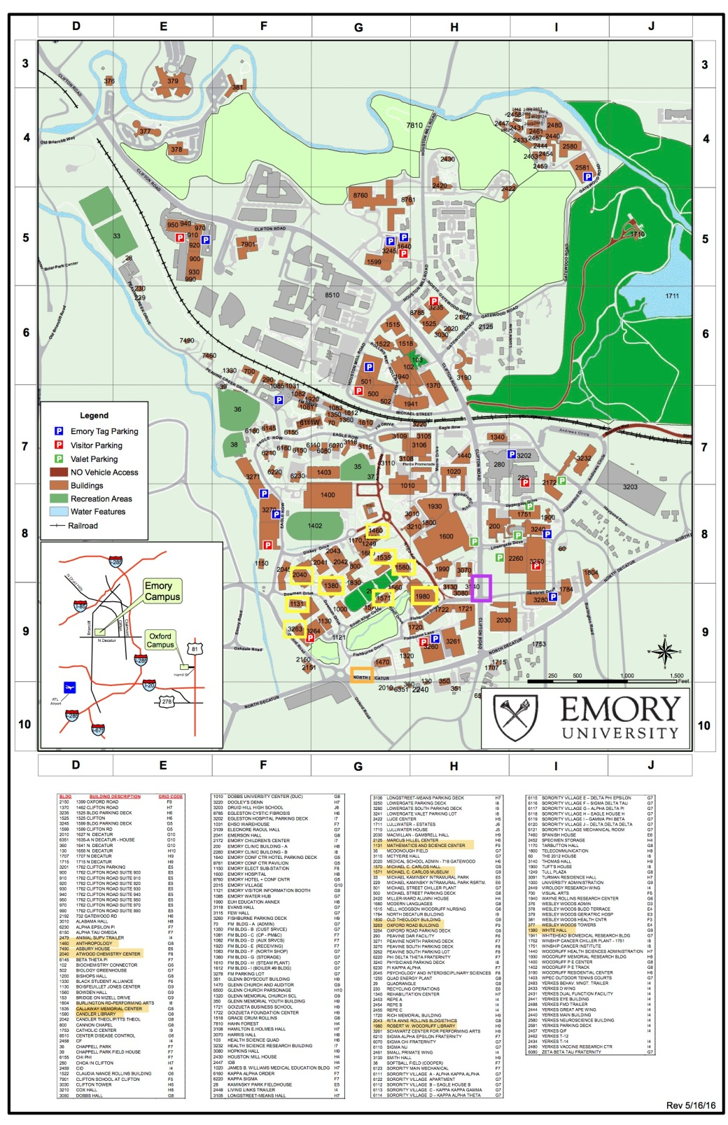Emory Map | New Materialisms and Economies of Excess
